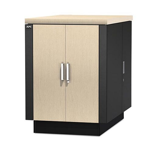 APC NetShelter CX 18U 750mm Wide x 1130mm Deep Enclosure (Oak/Grey) Secure Soundproofed