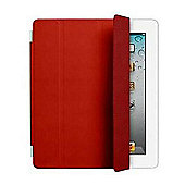 Apple Leather Smart Cover for iPad 2 (Red)