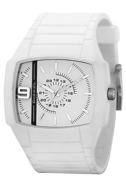 Diesel Gents White Fashion Watch DZ1321