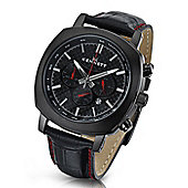 Kennett Challenger Mens Leather 24 hour Chronograph Watch WCHABKCFLBK