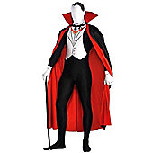 Vampire Party Suit - Adult Costume Size: 43-44