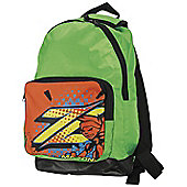 Mazon All Star Junior Sports Backpack with Adjustable Back Straps - Lime