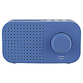 Tesco DR1403 Good DAB Radio, Blue