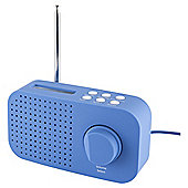 Tesco DR1403B DAB Radio Blue