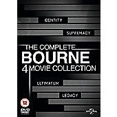The Bourne Legacy Quadrilogy (DVD Boxset)
