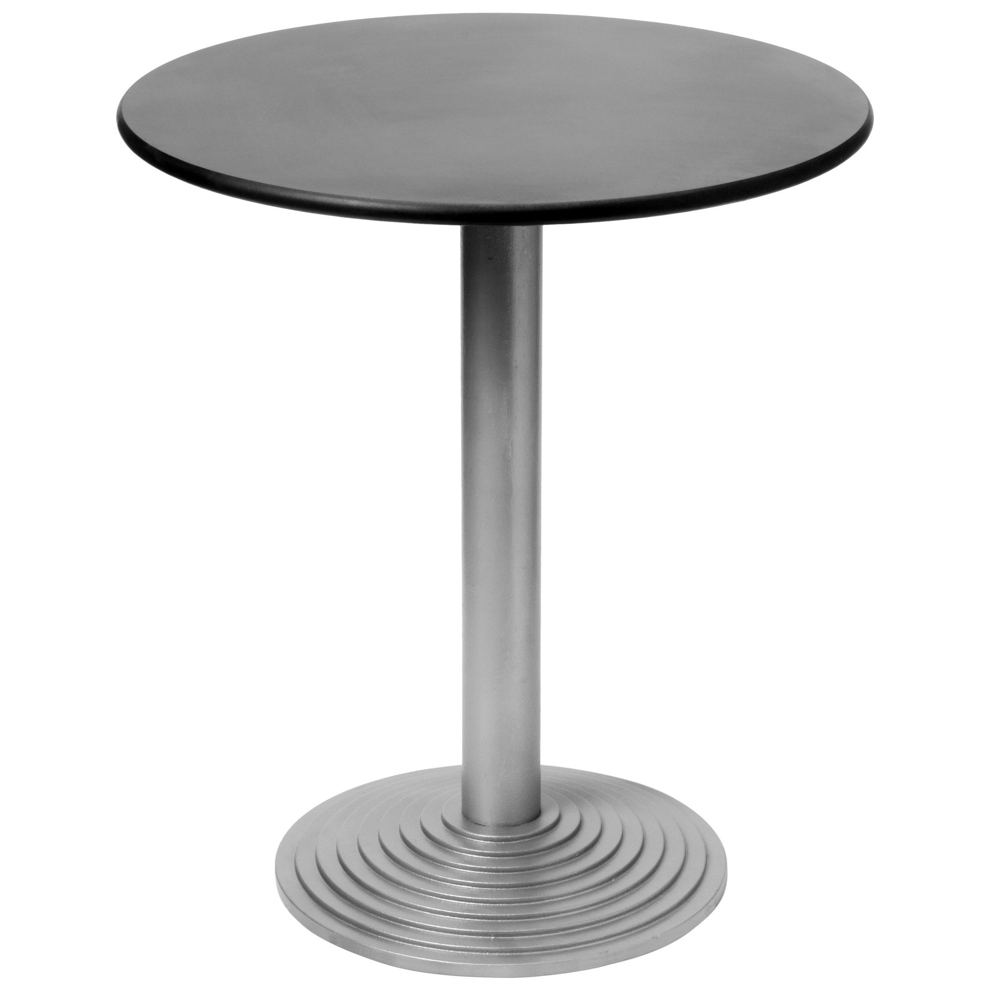 hnd classic montpellier table 70 cm black glass features table classic