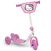 Hello Kitty OHKY006 Three Wheel Scooter.