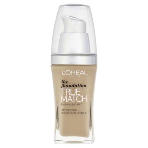 L'Oréal True Match Foundation N3 Creamy Beige 30ml