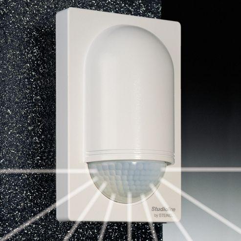 Steinel IS2180-5 Wall PIR Sensor in White