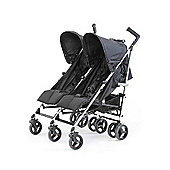 Baby Elegance Flow Twin Stroller (Black)