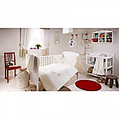 bed-e-byes Zippy Zebra Room in a Box with Tab Top Curtains 117x137