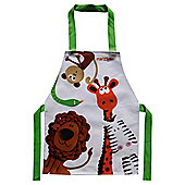 Marzipan Zoo Child Apron