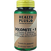 Health Plus Dolomite And D 60 Veg Tablets