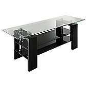 Wilkinson Furniture Calico TV Stand - Black
