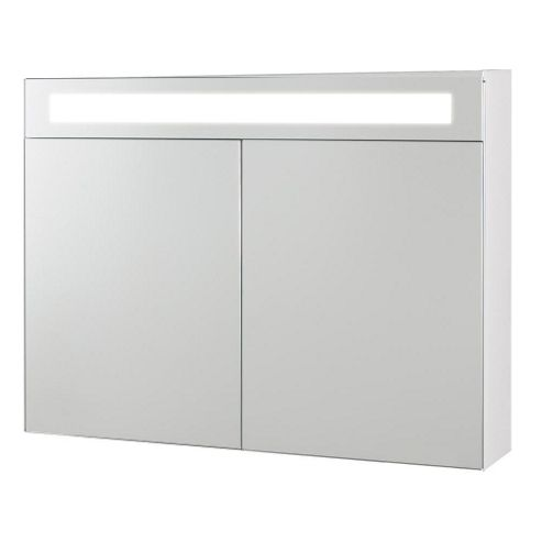 buy desire latina mirrored bathroom cabinet with light