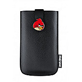 Universal Angry Birds Carrying Case Pull Strap Pouch Black