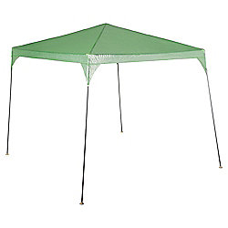 Tesco Polyethylene & Metal Gazebo, Green