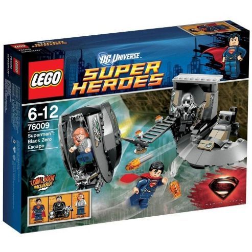 LEGO DC Super Heroes Superman Black Zero Escape 76009