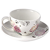 Bella Fine China Cup & Saucer