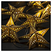 Dobbies 10 Paper Star String