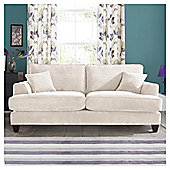 Kensington Fabric Large Sofa Biscuit