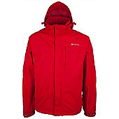 Monsoon Extreme Mens Waterproof Raincoat Shower Proof Anorak Mac Rain Jacket - Red