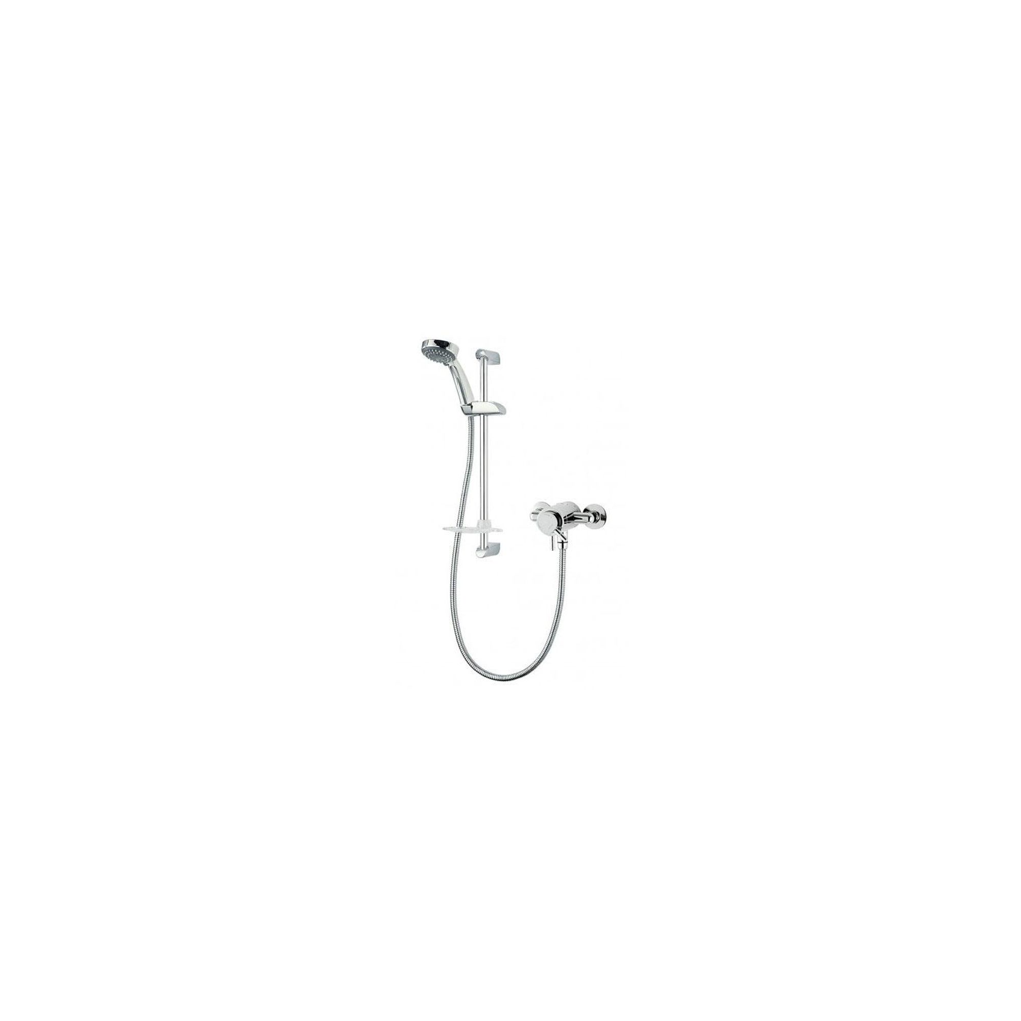 Triton Thames Exposed Thermostatic Mini Mixer Chrome at Tesco Direct