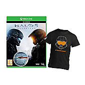 **Limited time offer only ** Halo 5 Guardians for Xbox One PLUS exclusive #Team Chief shirt