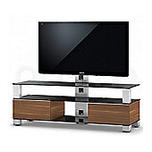 Sonorous Mood TV Cabinet in Walnut for up to 60 inch TVs