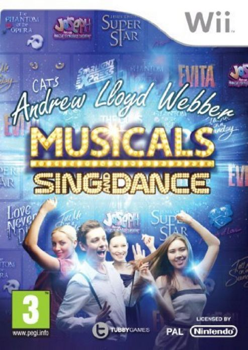 Andrew Lloyd Webber Musicals - Sing And Dance (Wii)