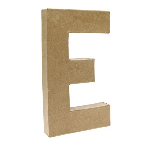Large Kraft Letter - E
