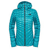 The North Face Ladies Thermoball Hoodie - Green