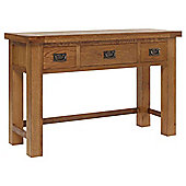Rustic Grange Brooklyn BLDRT1 Rustic Oak Dressing Table