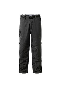 Craghoppers Mens Kiwi Convertible Walking Trousers - Grey