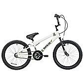"""Banzai Park 20"""" Kids' BMX Bike, White"""
