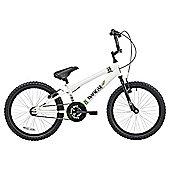 """Banzai 20"""" Kids' BMX Bike, White"""