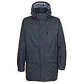 Trespass Mens Stonegate Waterproof Parka Jacket - Grey