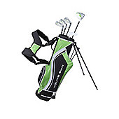 Young Gun Sgs V.2 Junior Kids Right Hand Golf Package Set + Bag Age 12-14 - Green