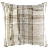 Heather Check Cushion