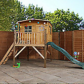Mercia Rose Playhouse with Tower and Slide