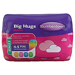 Slumberdown Single Duvet 4.5 Tog - Big Hugs