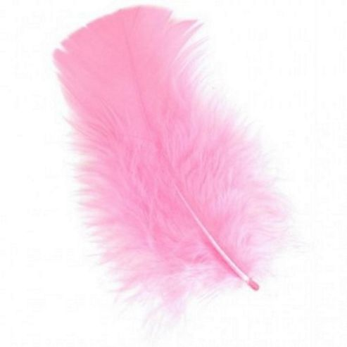 Feather Petals - Flamingo Pink