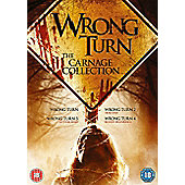 Wrong Turn 1-4 Boxset