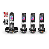 BT 8600 Quad Cordless Home Phone