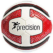 Precision Santos Training Ball White/Red/Black Size 5