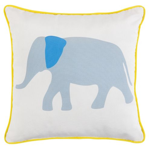 buy tesco kids elephant cushion from our cushions range. Black Bedroom Furniture Sets. Home Design Ideas