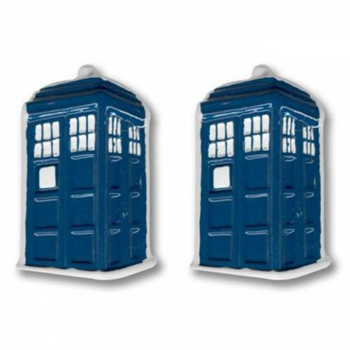 Doctor Who Tardis Cufflinks
