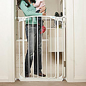 Dreambaby F782W Extra Tall Swing Closed Gate White 71–109cm
