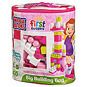 Mega Bloks First Builders Maxi Bag Pink