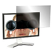 Privacy 23 inch Privacy Screen Widescreen 16:9 Aspect Radio (Transparent/Black)